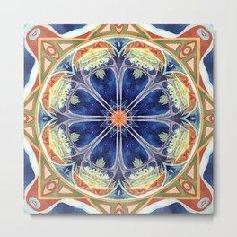 Mandalas of Forgiveness & Release 8 Metal Print
