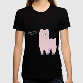 Concerned Kazoo Pink T-shirt