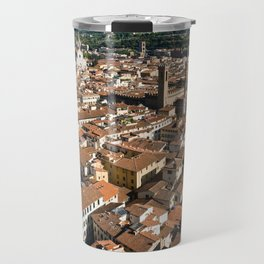 Aerial panoramic view of Florence Travel Mug