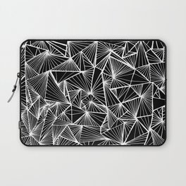 Triangular Texture - Inverted/Bleached Laptop Sleeve