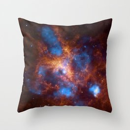 Tarantula Nebula Throw Pillow