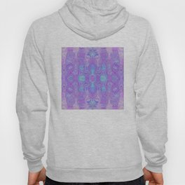 Lavender Dreams Abstract Hoody