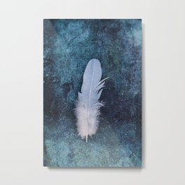 Feather II Metal Print