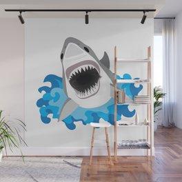 Shark Attack #2 Wall Mural