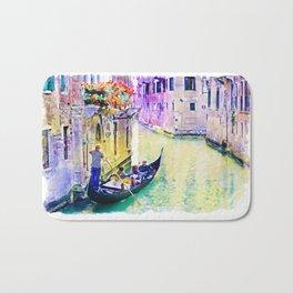 Venice Canal Bath Mat