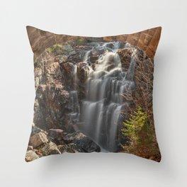 Hadlock Arch Falls Throw Pillow