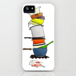 ...or Why I Don't Cook iPhone Case