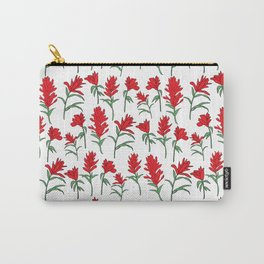 Indian Paintbrush Red Orange Carry-All Pouch