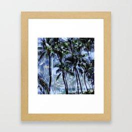 Waikiki Memories Framed Art Print