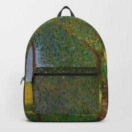 """Gustav Klimt """"Fruit trees"""" Backpack"""