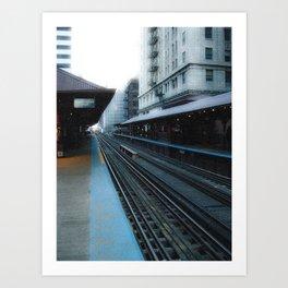 Quincy Station Art Print