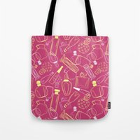 90s Tote Bags featuring Perfumed 90s by oleynikka