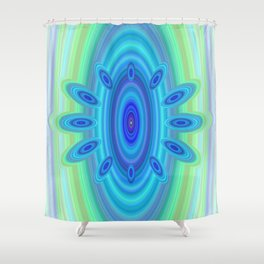 Winter's Gate Shower Curtain