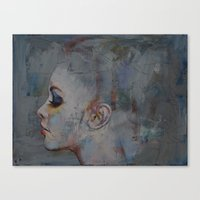 ballerina Canvas Prints featuring Ballerina by Michael Creese