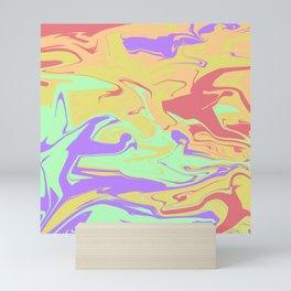 Scrambled Days Mini Art Print