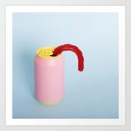 Licorice straw Art Print