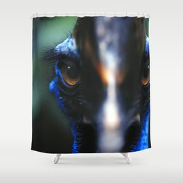 Cassowary Bird Shower Curtain
