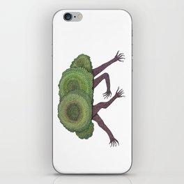 Creeping Shrubbery iPhone Skin