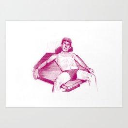 WARM 6 Art Print