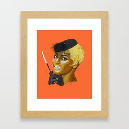 bey:Parisian Framed Art Print