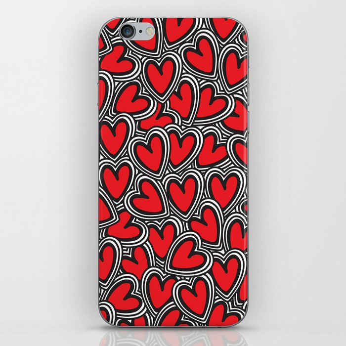 Love, love, love iPhone Skin