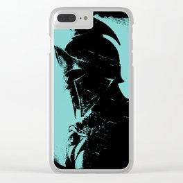 Once were Spartans Clear iPhone Case