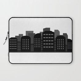 city skyline Laptop Sleeve