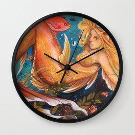 Under dah sea Wall Clock
