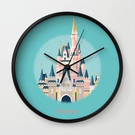 Florida Magic Kingdom Castle Wall Clock
