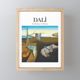 Dalì - The Persistence of Memory Framed Mini Art Print