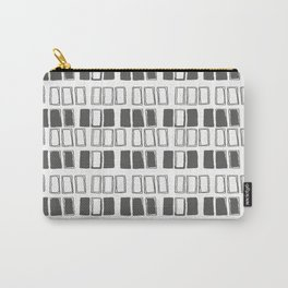 Blocks White/Grey Carry-All Pouch