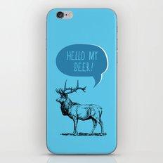 Deer Pun iPhone Skin