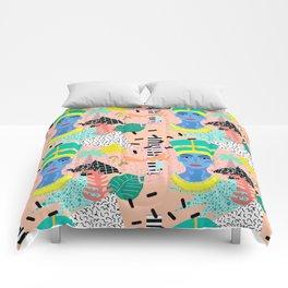 Postmodern Nefertiti Comforters