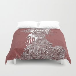Tower of Cages Duvet Cover