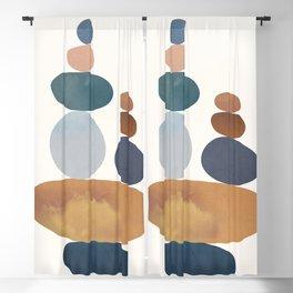 Balancing Stones 31 Blackout Curtain