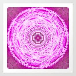 Void Mandala Art Print