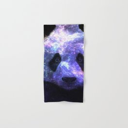 Galaxy Panda Space Colorful Hand & Bath Towel