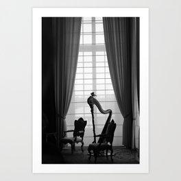 Venaria Reale Harp Art Print