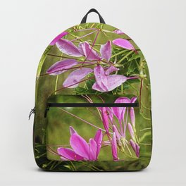 Pink Spikey Backpack