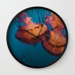 Jellyfish (Water) Wall Clock
