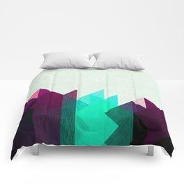 Purple Peaks Comforters