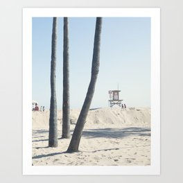 California Summer Art Print