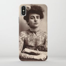 Maud Wagner Tattoo Photograph iPhone Case