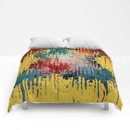 Paint Drips Comforters