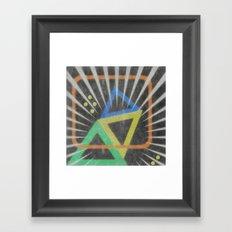 Op Ning A Jazz Singer Framed Art Print