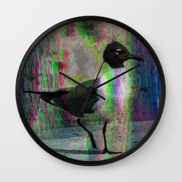 Black Gull Psilocybin Wall Clock