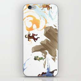 The Four Elements iPhone Skin