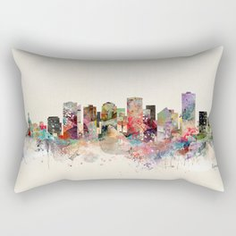 edmonton canada skyline Rectangular Pillow