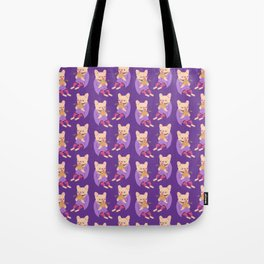 Frenchie Loves Taco Tote Bag