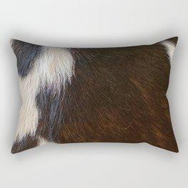 Cowhide Farmhouse Decor  Rectangular Pillow